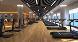 健身房木地板