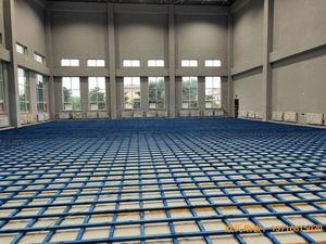 辽宁沈阳于洪机场运动木地板安装案例