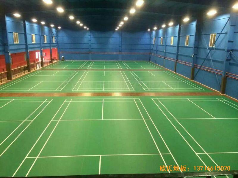 北京莲石羽羽毛球俱乐部运动地板铺装案例