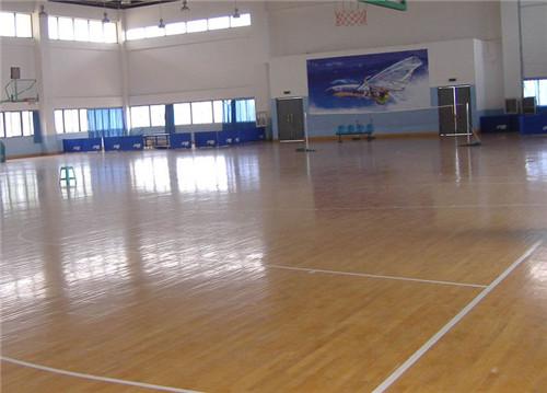 体育运动地板为什么都是实木地板呢