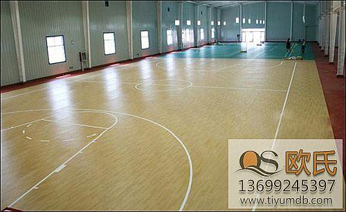 体育运动地板的颜色非常重要