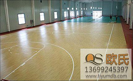 做好篮球地板的后期维护