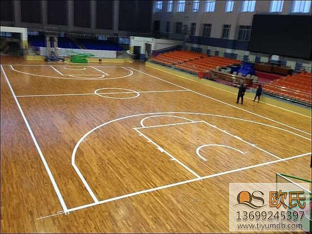 篮球馆选择合适的篮球运动木地板系统很重要!