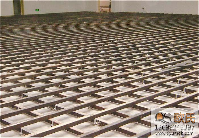 体育地板木龙骨的施工工艺