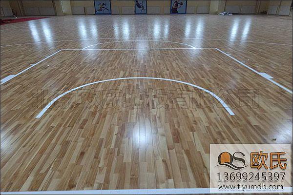 小学篮球木地板首先要考虑是否环保