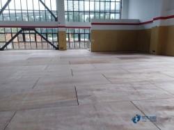 普通体育运动木地板施工团队