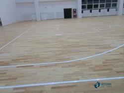 大学篮球运动地板安装公司