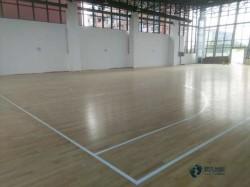 体育篮球木地板大约多少钱